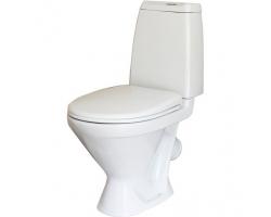 Унитаз напольный Sanita Кама Комфорт (дюропластовое сиденье, микролифт)