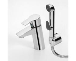 Смеситель для умывальника с ручным душем Oras Cubista 2812F