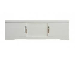 Экран для ванны раздвижной Style Line Глен 1400 белый глянец
