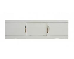 Экран для ванны раздвижной Style Line Глен 1800 белый глянец