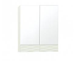 Зеркальный шкаф Style Line Ассоль 60 Люкс техно платина
