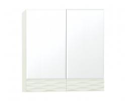 Зеркальный шкаф Style Line Ассоль 70 Люкс техно платина