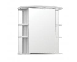 Зеркальный шкаф Style Line Эко Стандарт Лира 70/С белый