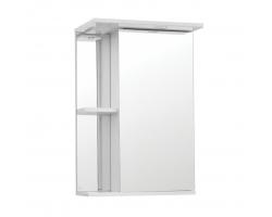 Зеркальный шкаф Style Line Эко Стандарт Николь 45/С белый