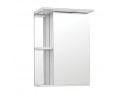 Зеркальный шкаф Style Line Эко Стандарт Николь 50/С белый