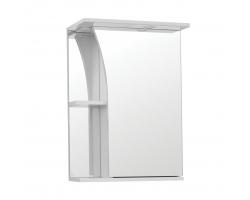 Зеркальный шкаф Style Line Эко Стандарт Виола 50/С белый