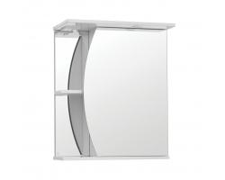 Зеркальный шкаф Style Line Эко Волна Камелия 60/С белый