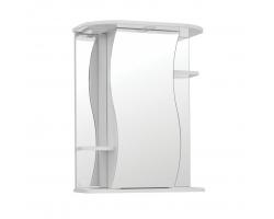Зеркальный шкаф Style Line Эко Волна Лилия 55/С белый