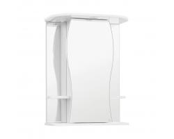 Зеркальный шкаф Style Line Эко Волна Лорена 55/С белый