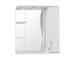 Зеркало-шкаф Style Line Амелия 75/С белый