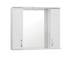 Зеркало-шкаф Style Line Эко Стандарт Панда 100/С белый