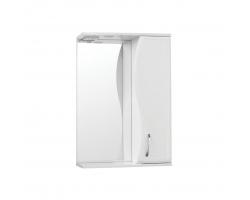 Зеркало-шкаф Style Line Эко Волна Панда Волна 55/С белый