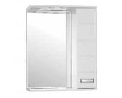 Зеркало-шкаф Style Line Ирис 65/С белый