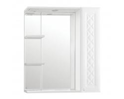 Зеркало-шкаф Style Line Канна 75/С Люкс белый