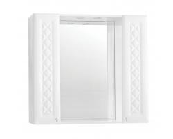 Зеркало-шкаф Style Line Канна 90/С белый