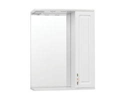Зеркало-шкаф Style Line Олеандр-2 65/С Люкс белый
