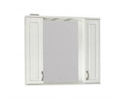 Зеркало-шкаф Style Line Олеандр-2 90/С рельеф пастель