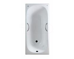 Чугунная ванна Timo Standard 3V 170x75 с ручками И0000010