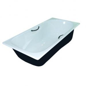 Чугунная ванна Универсал Сибирячка 25707544-1 150х75 (с отверстиями под ручки)