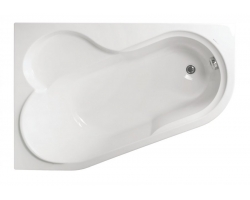 Ванна акриловая Vagnerplast Selena 147L VPBA141SEL3LE-01 147x100 (левая)