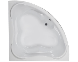 Ванна акриловая Aquanet / Акванет Flores 150x150