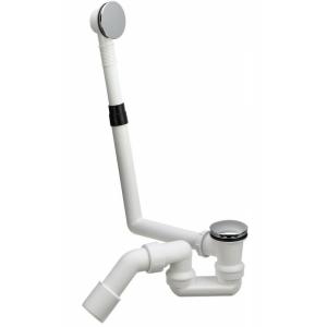Слив-перелив для ванны Viega 572853 (автомат)