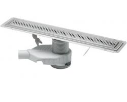 Душевой лоток Viega Advantix 750 с дизайн-решеткой ER1 619053 (хром глянец)