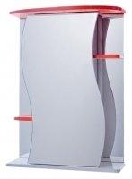 Зеркало-шкаф Vigo Alessandro 55 см. 3-550 (№11-550, красное)