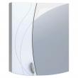 Зеркало-шкаф Vigo Faina 1-600 60 см. (№25-600, белое)