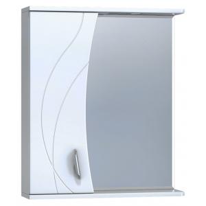 Зеркало Vigo Faina 2-600 60 см. (№25-600-Л, белое, левое)