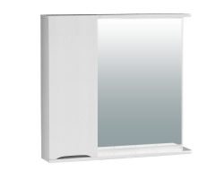 Зеркало Vigo Minor 750 75 см. (№108-750, левое, белое)