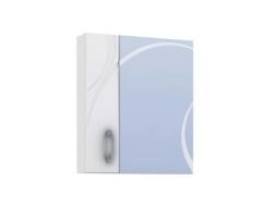 Зеркало-шкаф Vigo Mirella 600 60 см. (№36-600, белое)