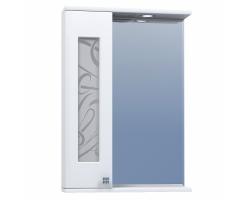Зеркало Vigo Provans 550 55 см. (№5-550, левое, белое)