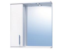 Зеркало Vigo Vito 1-65 65 см. (№20-650-Л, белое, левое)