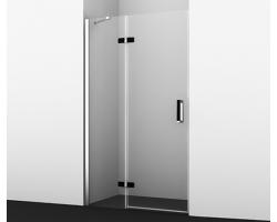 Дверь для душа Wasser Kraft Aller Black 10H05L 120x200 (левая)