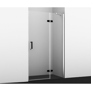 Дверь для душа Wasser Kraft Aller Black Matt 10H05R (правая)
