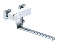 Смеситель для ванны с длинным изливом Wasser Kraft Aller 1062L White