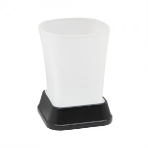 Стакан для зубных щеток Wasser Kraft Amper Black K-5428 (чёрный)