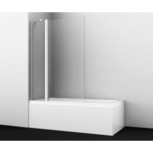 Душевая шторка Wasser Kraft Berkel 48P02-110 110 см. (распашная, двухстворчатая)
