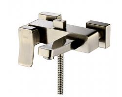 Смеситель для ванны Wasser Kraft Exter 1601 (светлая бронза)