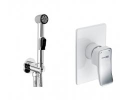 Комплект для гигиенического душа Wasser Kraft A010657 White (скрытое подключение)