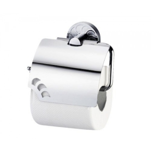 Держатель туалетной бумаги с крышкой Wasser Kraft Isen K-4025