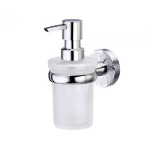 Дозатор для жидкого мыла стеклянный Wasser Kraft Isen K-4099