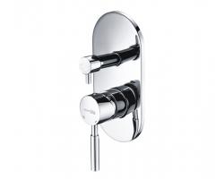 Смеситель для ванной со встроенной системой монтажа Wasser Kraft Main 4141