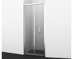 Дверь для душа Wasser Kraft Weser 78F04 90х200